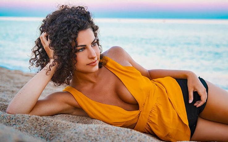 brazilian wife at the beach